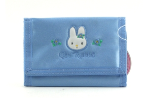 Gini Rabbit Wallet (Blue) - 0.8oz