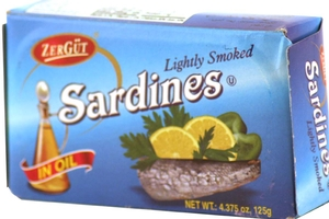 Sardines in Oil (Lightly Smoked) - 4.37oz