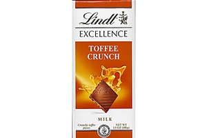 Lindt Chocolate Bar (Excellence Toffee Crunch) - 3.5oz [12 units ...