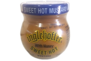 Sweet Hot Mustard with Honey - 4oz