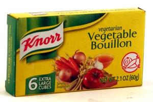 Vegetarian bouillon cubes