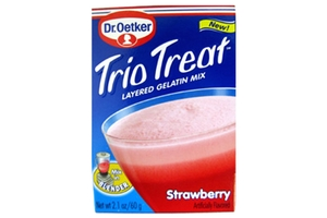 Trio Treat (Strawberry Gelatin) - 2.1oz