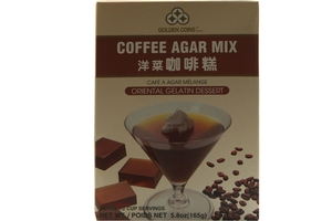 Oriental Gelatin Dessert Mix (Coffee Agar Mix) - 5.8oz
