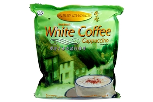 Instant White Coffee Cappuccino Premix (Instant Coffee Mix - 20 sachets) - 17.65oz