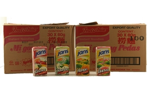 Indomie Promo (Hot Fried Noodles) - 2 Cases