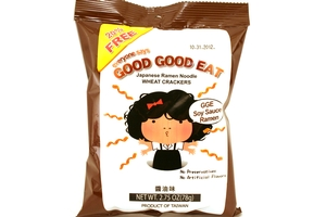 Japanese Ramen Noodle (Wheat Cracker Soy Sauce Ramen Flavor) - 2.75oz