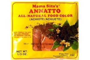 Mama Sita Annato Powder (All Natural Food Coloring) - 0.33oz ...