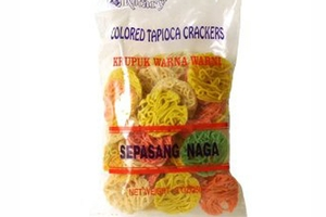 Krupuk Warna Warni (Colored Tapioca Crackers) - 8oz