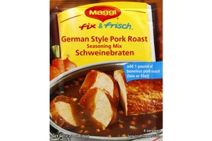 Fix & Frisch Schweinebraten (German Style Pork Roast Seasoning Mix) - 1.62oz