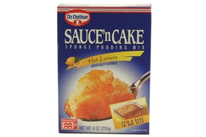 Sauce n Cake Sponge Pudding Mix (Hot Lemon) - 9oz