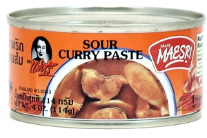Curry Paste (Sour Curry Paste) - 4oz