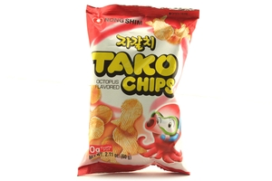 Tako Chips Snack (Octopus Flavor) - 2.11oz