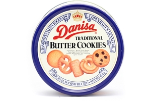 Butter Cookies (5 Traditional Type of Cookies) - 16oz