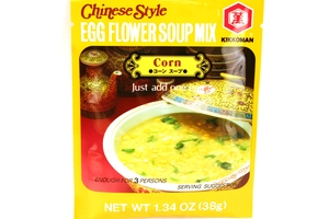 Chinese Style Egg Flower Soup Mix (Corn Flavor) - 1.34oz