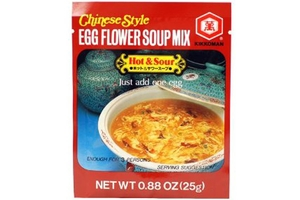 Chinese Style Egg Flower Soup Mix (Hot & Sour Flavor) - 0.88oz
