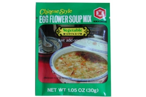 Chinese Style Egg Flower Soup Mix (Vegetable Flavor) - 1.05oz