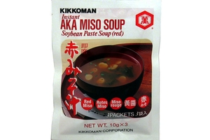 Instant Aka Miso Soup (Red Soybean Paste Soup) - 1.05oz