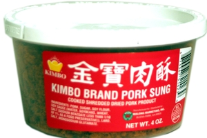 Pork Sung (Cooked Shredded Dried Pork) - 4oz