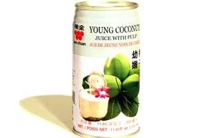 Young Coconut Juice with Pulp - 11.85fl oz