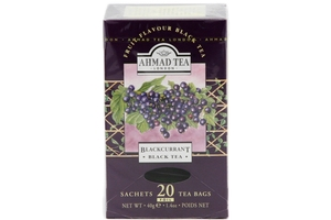 Blackcurrant Black Tea (20-ct) - 1.41oz