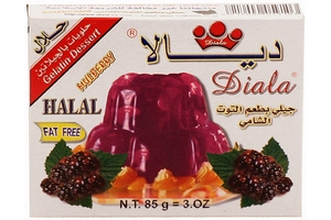 Gelatine Dessert Mix (Mulberry) - 3.5oz