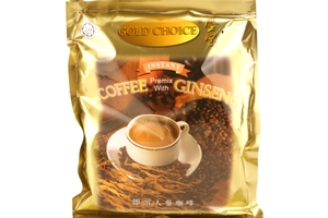 Instant Coffee Premix with Ginseng (3 in 1 / 20-ct) - 14.11oz
