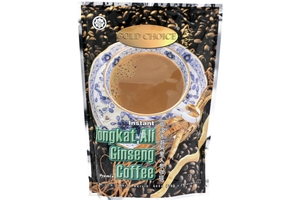 Tongkat Ali Ginseng Coffee (Instant Premix Coffee - 20 Sachets) - 14.1oz