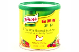 Chicken Flavored Broth Mix (Naturally & artificially flavored) - 8oz