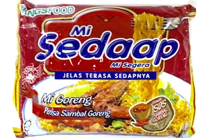 Mie Sambal Goreng (Hot And Spicy Fried Noodles) - 3.1oz