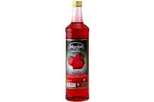 Sirup Rasa Strawberi (Strawberry Syrup) - 22fl oz