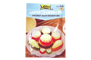Agar Dessert Mix (Coconut Flavor) - 2oz
