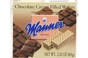 Chocolate Cream Filled Wafers - 2.5oz