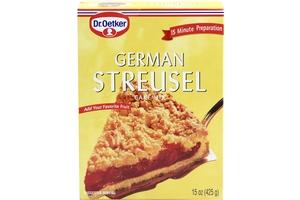 Dr Oetker German Streusel Cake Mix 15oz 3 Units