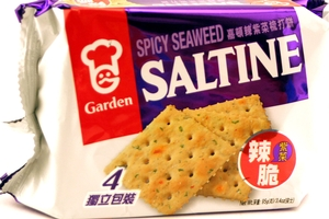 Saltine Craker (Spicy Seaweed) - 3.4oz