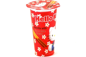 Hello Kitty Biscuits Chocolate Cream - 1.76oz