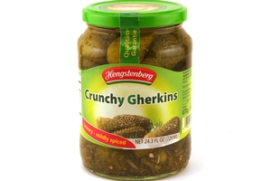 Crunchy Gherkins (Crunchy & Spicy Pickles) - 24.3fl oz