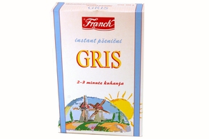 Gris Instant Psenicni (Instant Cream of Wheat Dry Cereal) - 14.10oz