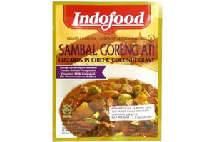 Bumbu Sambal Goreng Ati (Glizzards in Chili & Coconut Gravy Mix) - 1.6oz