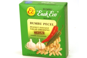 Bumbu Pecel Pedas Sedang (Peanut Instant Salad Dressing / Medium Spicy) - 7 oz
