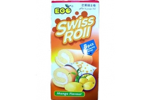 Swiss Roll (Mango Flavor/8-ct) - 6.2oz