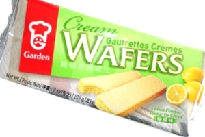 Cream Wafers (Lemon Flavored) - 7oz