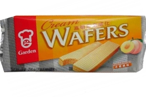 Cream Wafers (Peach Flavor) - 7oz