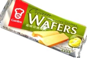 Cream Wafers (Durian Flavored) - 7oz