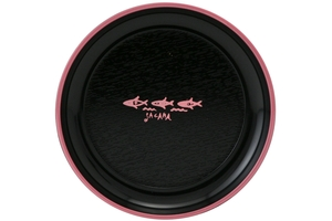Dish (Black and Pink) - 0.02oz