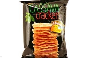 Cassava Crackers (Cheese Flavor) - 1.7oz