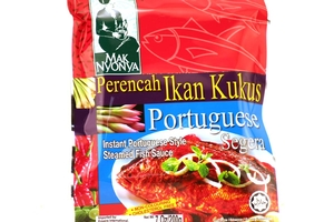 Perencah Ikan Kukus Portuguese (Instant Portuguese Style Steamed Fish Sauce) - 7oz