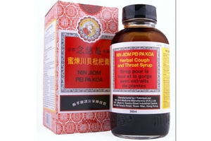 Nin Jiom Pei Pa Koa (Herbal Dietary Supplement with Honey and Loquat) - 10fl oz