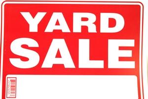 Bazic Yard Sale Sign 12 Inch X 16 Inch 782403226163