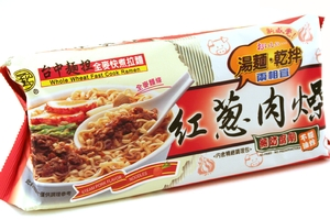 Whole Wheat Fast Cook Ramen (Steam Pork Flavor) - 14oz