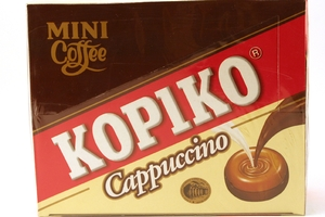 Coffee Candy Cappuccino Box (20 sachets / 120 candies) - 16.9oz